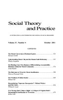 Social Theory and Practice
