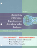 Elementary Differential Equations and Boundary Value Problems  Binder Ready Version
