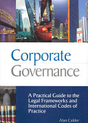 Corporate Governance: A Practical Guide to the Legal ...