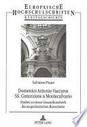 Domenico Antonio Vaccaros SS. Concezione a Montecalvario