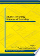 Advances in Energy Science and Technology Book