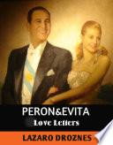 Peron Evita  Love Letters  Book