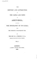 Pdf The History and Antiquities of the Castle and Town of Arundel