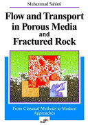 Flows in Porous Media and Fractured Rock Book