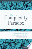 The Complexity Paradox Book PDF