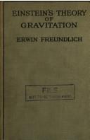 einstein s theory of gravitation Book PDF