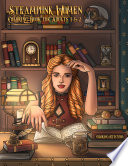 Steampunk Women Coloring Book for Adults 1   2