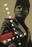 Mussolini s Empire