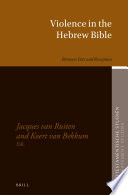 Violence in the Hebrew Bible