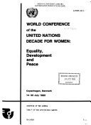 World Conference of the United Nations Decade for Women