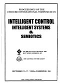 Proceedings of the 1999 IEEE International Symposium on Intelligent Control  Intelligent Systems   Semiotics