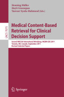 Medical Content Based Retrieval for Clinical Decision Support