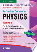 Refresher Course in B Sc Physics   Vol   II
