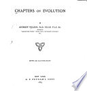 Chapters on Evolution Book
