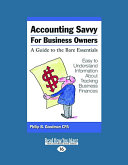 Accounting Savvy for Business Owners (Large Print 16pt)
