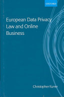 Pdf European Data Privacy Law and Online Business