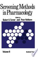 Screening Methods in Pharmacology