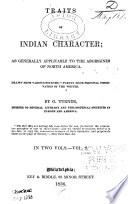 Traits of Indian Character