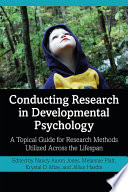 Conducting Research in Developmental Psychology