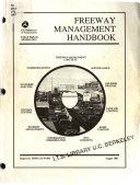 Freeway Management Handbook