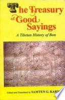 The Treasury of Good Sayings