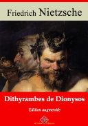 Pdf Dithyrambes de Dionysos Telecharger