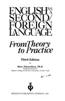 English As A Second Foreign Language