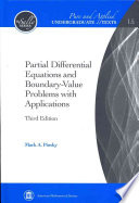 Partial Differential Equations and Boundary-value Problems with Applications