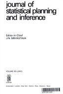 Journal of Statistical Planning and Inference