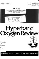Hyperbaric Oxygen Review Book