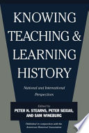 Knowing  Teaching  and Learning History Book