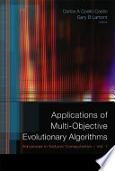 Applications of Multi objective Evolutionary Algorithms