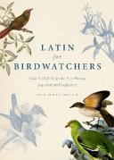 Latin for Birdwatchers
