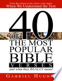 40 Of The Most Popular Bible Verses And What They Really Mean