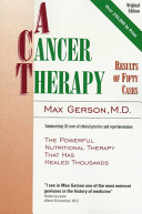 A Cancer Therapy Book PDF