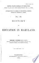 Contributions To American Educational History Book PDF