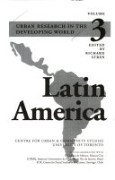Urban Research in the Developing World: Latin America