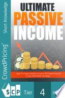 Ultimate Passive Income Pdf/ePub eBook