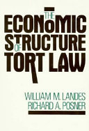The Economic Structure of Tort Law