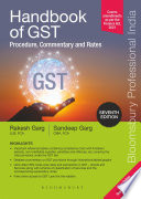 Handbook of GST Procedure  Commentary and Rates  7e
