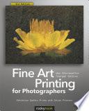 Fine Art Printing for Photographers