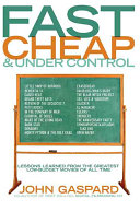 Fast  Cheap  and Under Control Book