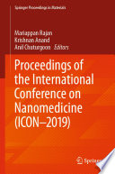 Proceedings of the International Conference on Nanomedicine  ICON 2019