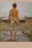 The Rise of David Levinsky Pdf/ePub eBook