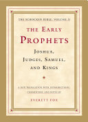 The Early Prophets: Joshua, Judges, Samuel, and Kings [Pdf/ePub] eBook