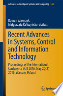 Recent Advances in Systems  Control and Information Technology