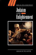 Pdf Judaism and Enlightenment
