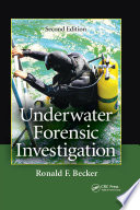 Underwater Forensic Investigation Book