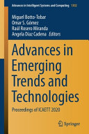Advances in Emerging Trends and Technologies Book