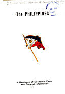 The Philippines: a Handbook of Enconomic Facts and General Information